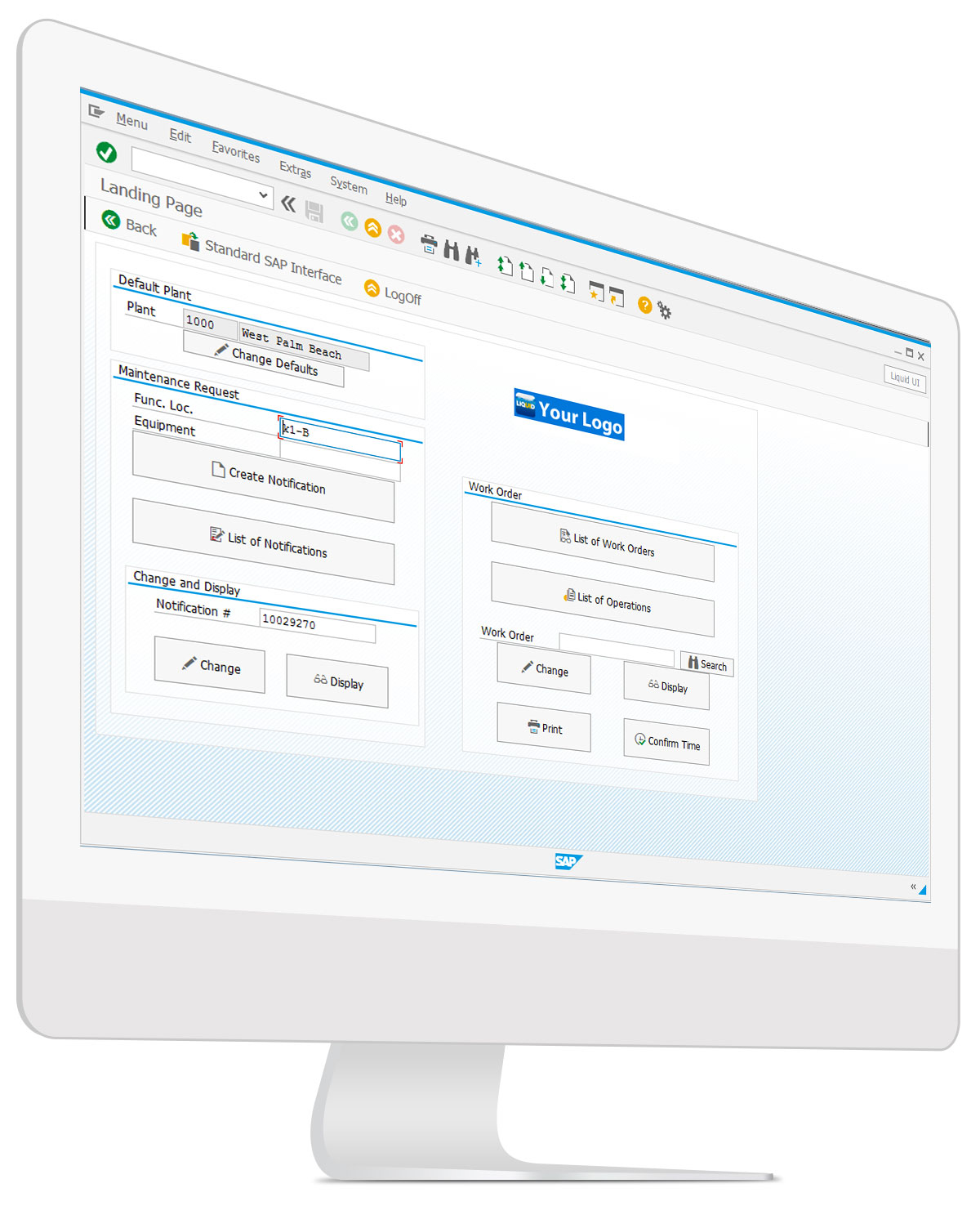 Desktop - SAP PM Dashboard