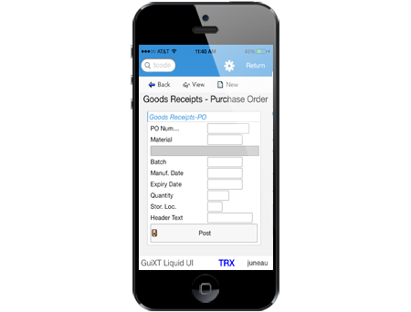 Goods Receipt - Purchase Order