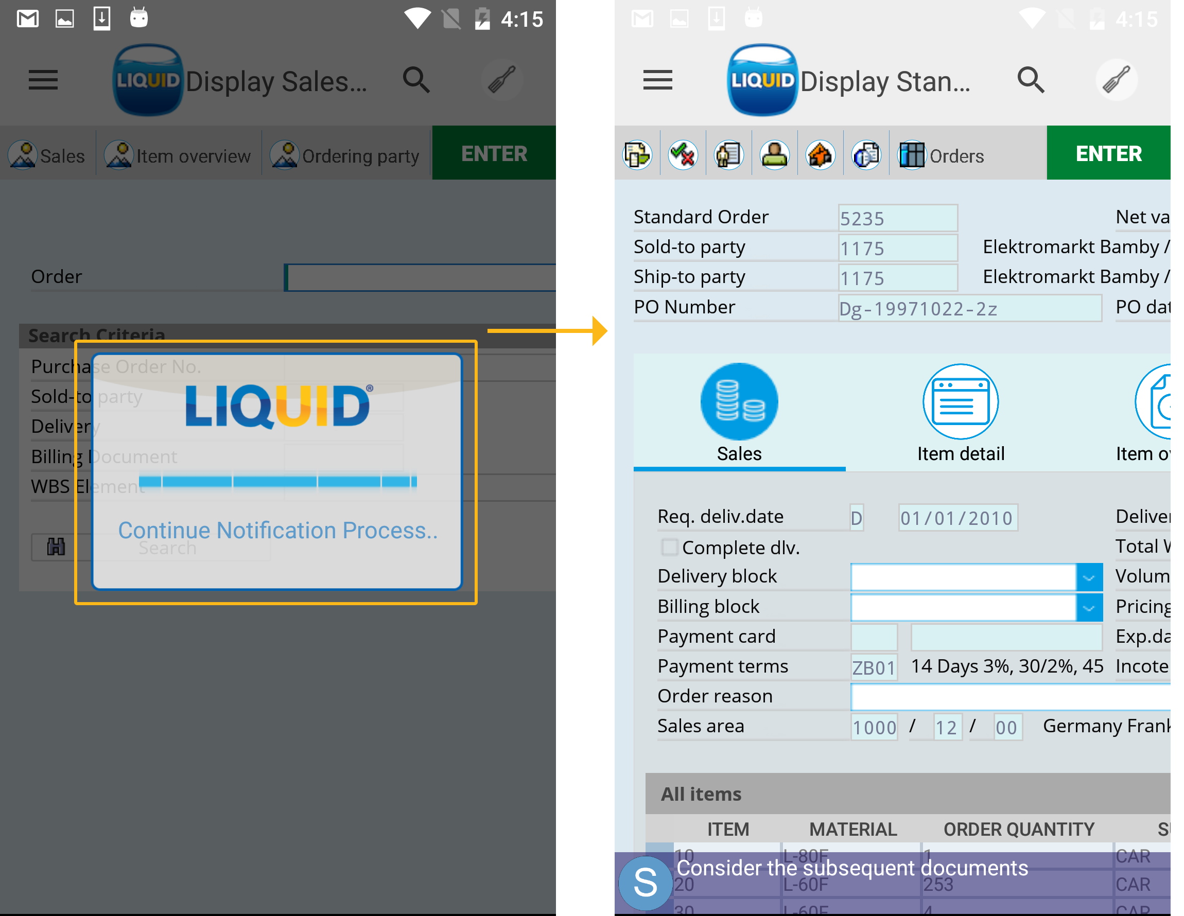 Liquid UI - Documentation - 2 3 08 Automating SAP Transactions