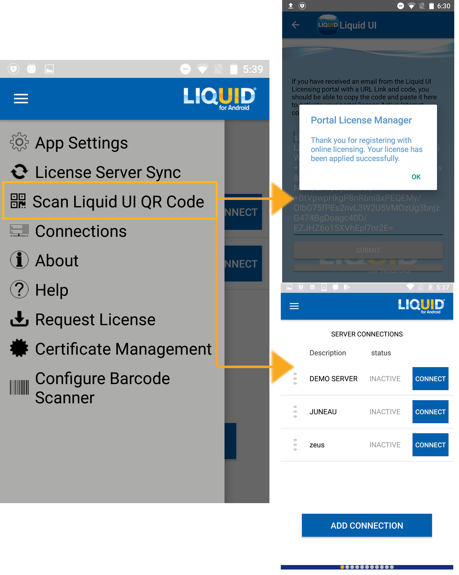 Liquid UI - Documentation - 4 03 Main Menu