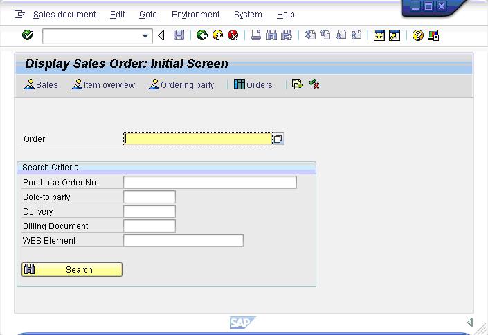 Verifying Entries in SAP